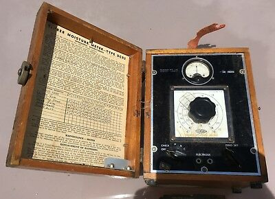 Vintage Timber Moisture Meter - Type DCR2 used Qld