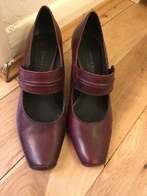 COMFORTABLE LADIES LEATHER SHOES Size 5