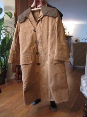 Canada-Canadian WWII British made cold weather Coats, sheepskin.