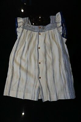 Bundle of girls blue/white dress Zara/H&M/J Crew 3-4 years  3899