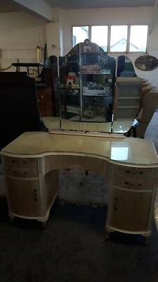 Bleached Dressing Table