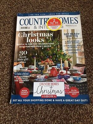 Country Homes And Interiors Magazine December 2017