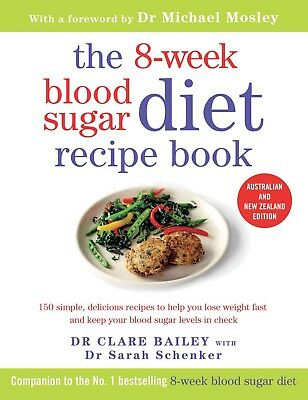 The 8 Week Blood Sugar Diet Recipe Book  E-B00K EMAlLED  Lose weight fast