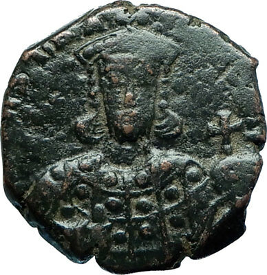 Constantine VII Porphyrogenitus 913AD Authentic Ancient Byzantine Coin i66082