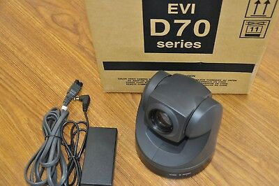 Sony EVI-D70 Security/Conference Pan Tilt Zoom PTZ Color Video Camera