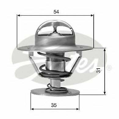 Gates Thermostat coolant TH00682G1 Replaces 056121113,056121113A,6106381