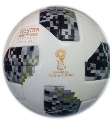 Adidas Telstar 18 Soccer Match Ball Fifa World Cup 2018 Thermall Size 5
