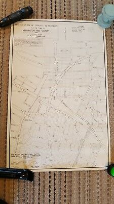 1954 - MAP OF KENSINGTON-WHEATON And Vicinity - Montgomery County, MD22