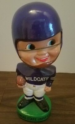 VINTAGE OLD 1960'S Kansas St Football Bobblehead