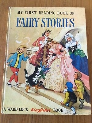 Vintage 1960 ~ My First Book Of FAIRY STORIES ~ Illust Rene Cloke ~Ward Lock HC