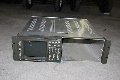 Leader LV5100DE Digital/Analog Component Waveform Monitor in Rack Frame