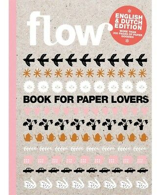 Flow Book For Paper Lovers 5Th English And Dutch Edition 300 Pages - New