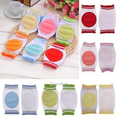 Unisex Baby Soft Crawling Knee Pads Anti Slip Elbow Cushion Toddler Safety Cover