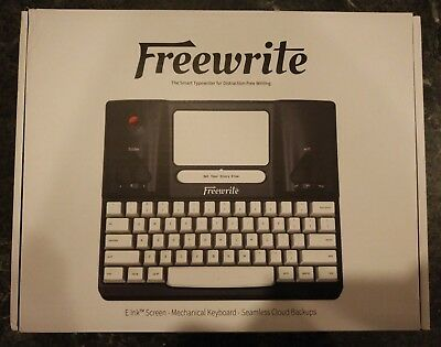 Freewrite - Distraction-free, smart typewriter - by Astrohaus