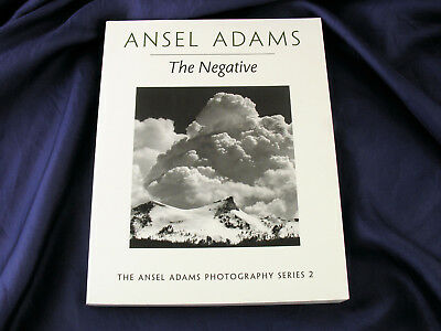 Ansel Adams THE NEGATIVE Fine Art Schwarzweiss Fotografie Zonensystem 272 S.