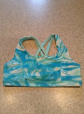 justice active dance bra top turquoise 28