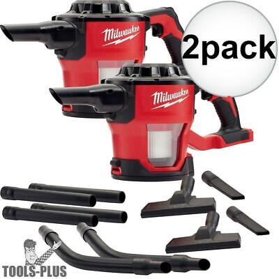 Milwaukee 0882-20 2x M18 Compact Vacuum (Tool Only) with HEPA Filter New