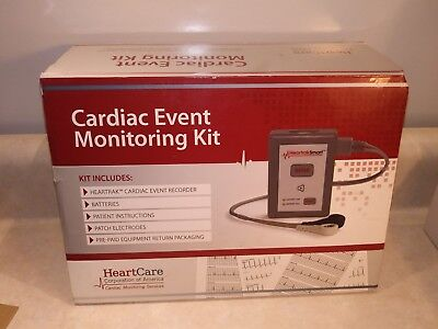 HeartCare Corporation of America Cardiac Event Monitoring Kit **FREE US SHIPPING