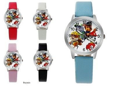 Paw Patrol Wrist Watch Children Kids Boys Girls Gift Party Bag Stocking Filler