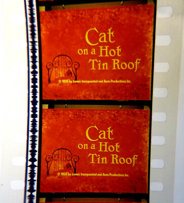CAT ON A HOT TIN ROOF 35mm r/i trailer. Elizabeth Taylor, Paul Newman