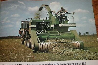 Oliver Tractor Corporation Make Hay Any Way Sales Brochure