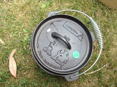 Camp Oven Cast Iron