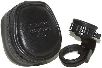 Pentax 645 Magnifier with Zip-Case: Also for 645N, 645NII, 645D, 645Z