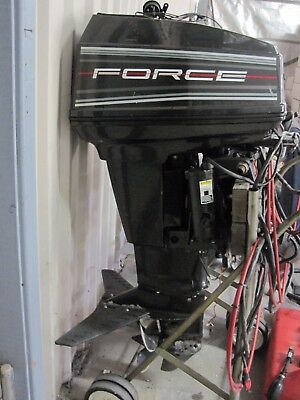 Force 50hp Electric Start Forward Steer Long Shaft Power Tilt