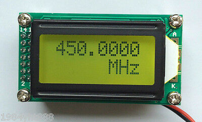 New 1MHz~1.1GHz Frequency Counter Tester Measurement For Ham Radio PLJ-0802-E