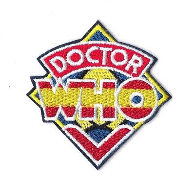 DOCTOR WHO Iron on / Sew on Patch Embroidered Badge Motif TV PT175
