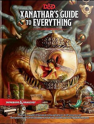 Xanathar's Guide to Everything by Wizards RPG Team (2017, Hardcover)
