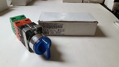 New Automation Direct Selector Switch GCX1264-120  incandescent illuminated