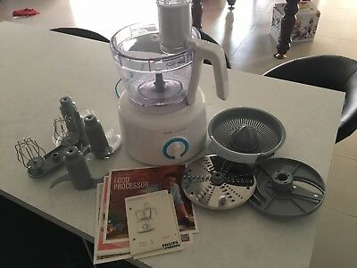Philips Jamie Oliver Food Processor (as new) with all attachments & manual
