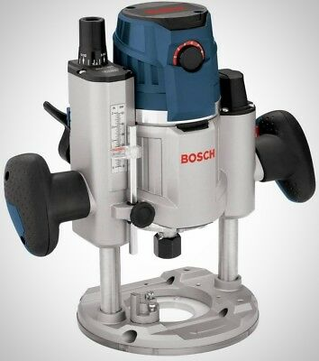 Bosch 15 Amp Corded Electronic Corded Variable Speed Plunge Router LED Light NEW
