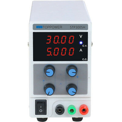 Variable Adjustable Lab DC Bench Power Supply Regulated 0-30V 0-5A Precision