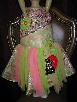 NEW Glitz,Pageant,Prom,Flower Girl Dress Beaded Crystal Ruched Organza SZ 6m-12m