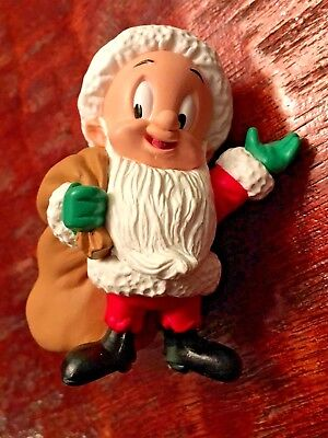 Elmer Fudd as Santa with his bag - Looney Tunes - Hallmark Keepsake Ornament