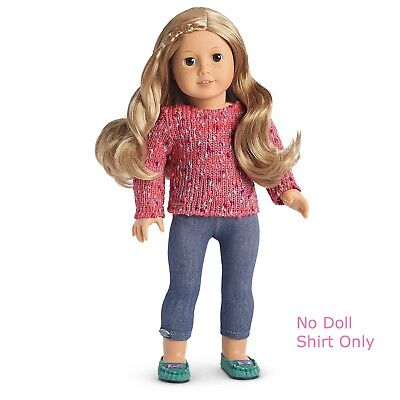American Girl Doll Mixed Knit Sweater NEW Mix & Match Clothes ~ Pink and Cozy