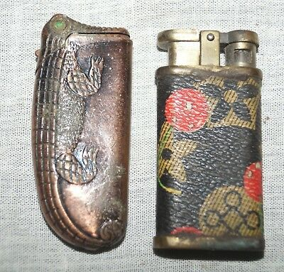 Vintage 2  ANTIQUE LIGHTERS