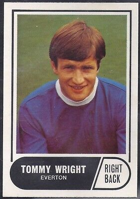 A&Bc-Football 1969 Green Back Facts-#033- Everton - Tommy Wright