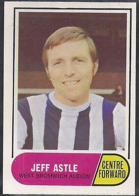 A&Bc-Football 1969 Green Back Facts-#094- West Brom Wba - Jeff Astle