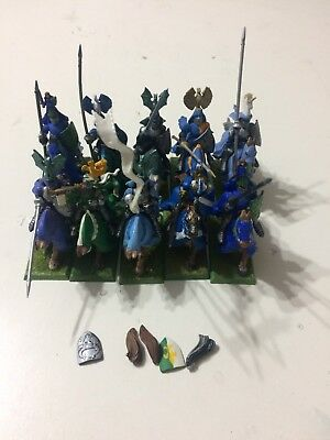 Warhammer Bretonnia - 10 Knights Of The Realm