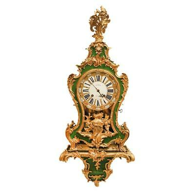 Louis XV table clock. Julien Leroi. 18th Century. Feriarte