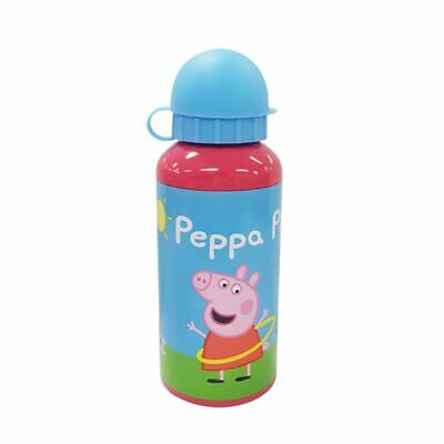 Peppa Pig Aluminium Drink Bottle / Water Bottle for Kids