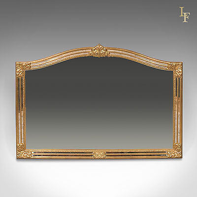Classical Revival Wall Mirror, 21st Century Overmantel, Quality European Design