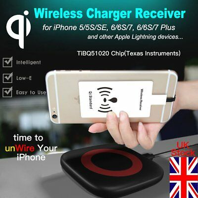 Qi for iPhone Wireless Charger Receiver Inductive Charging Coil Mat Module Fast