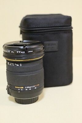 Sigma 17-50mm F2.8 EX DC OS HSM For Nikon Used