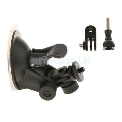 """Suction Cup Camera Mount 1/4 """"Heavy Duty +Tripod Adapter Screw for Gopro"""