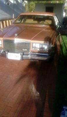 1984 Cadillac Seville  1984 cadillac Seville 62127 Miles