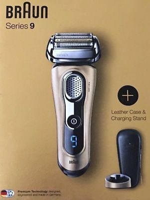 Braun Series 9 9299ps Wet & Dry Electric Shaver Premium Gold Edition Brand New